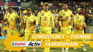 #IPL2019: The SECRET behind #CSK's CONSISTENCY: 'Castrol Activ' #AakashVani, powered by 'Dr. Fixit'