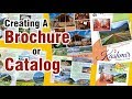 how to make a brochure or catalog in coreldraw the effective way