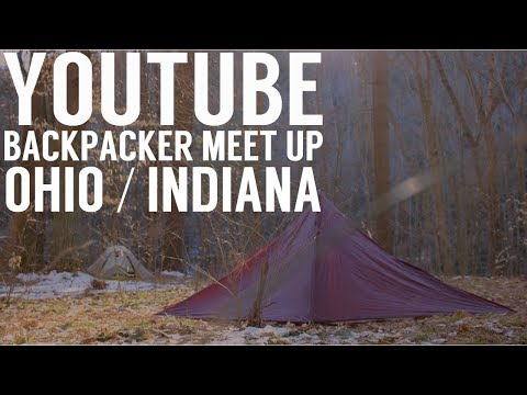 Ohio Youtube Backpackers Meet - Mohican State Forest