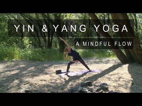 Mindful Yoga - 50 min Hatha Yoga Flow - Yin and Yang Yoga - Connect to  Yourself