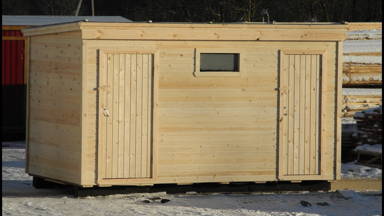 3 в 1 Душ, Туалет, Хозблок с отделкой. Цена 49.800 руб. - YouTube