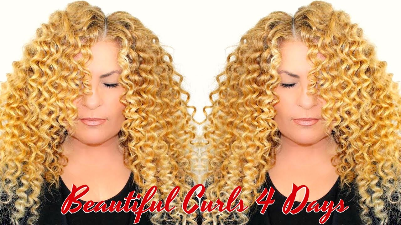 How To Make Perfect Bouncy Wand Curls Long Lasting Beyonc Curly