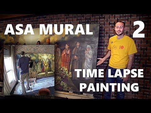 All Saints Academy Mural - Part 2/2