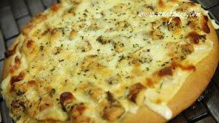 Chicken Alfredo Pizza (Alfredo Pizza) Recipe