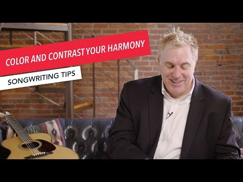 Quick Songwriting Tips: Color and Contrast Your Harmony | Tip 2/8 | Berklee Online
