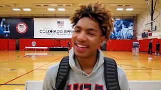 Jett Howard: 2019 USA Basketball Junior Minicamp Interview