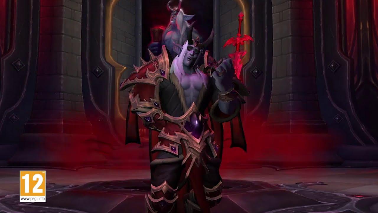 Shadowlands : le raid château Nathria est disponible !