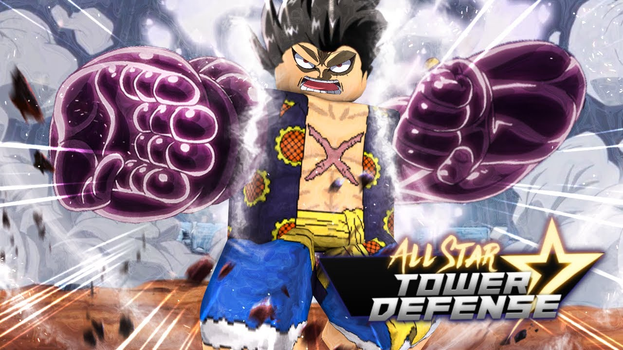 new best godly tanjiro killed luffy 4th gear in ultimate tower defense. 5 Star Gear 4 Luffy Is The Best Unit In All Star Tower Defense Youtube