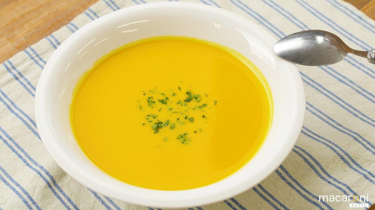 かぼちゃ スープ ミキサー