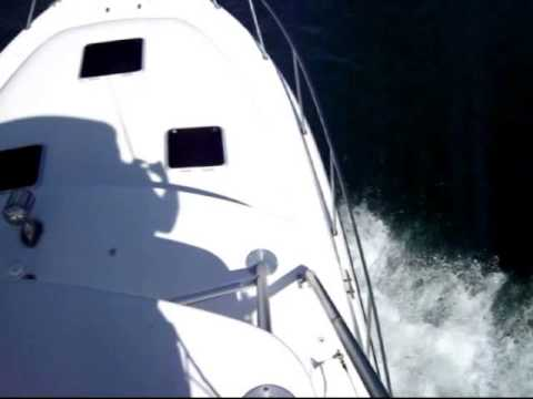 2000 31' Tiara 3100 Open Sea Trial and Survey - Suenos Azules Marine Surveying and Consulting