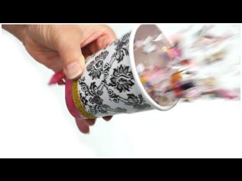 9bf797ec801 BRICOLAGE CARNAVAL   Fabriquer un canon à confettis (Hellokids) - YouTube