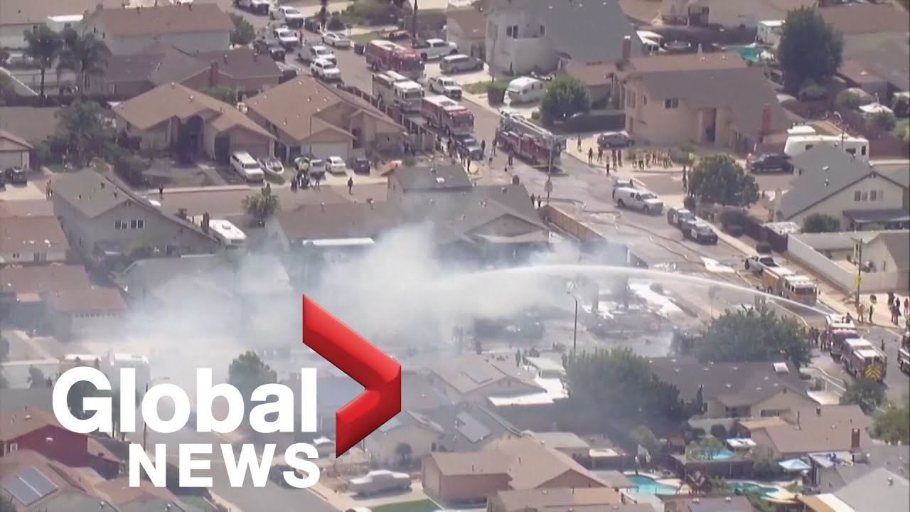 Small plane crash near San Diego leaves at least two dead ...