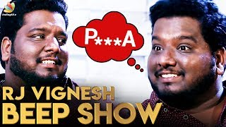 Audience's Beep Comments for my Beep Show : RJ Vignesh Humorous Interview | Dev