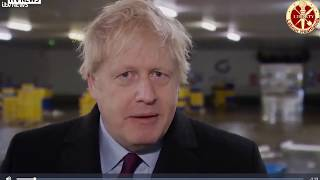 Boris Johnson takes reporter's phone and refusal to look at a photo of child on NHS hospital floor