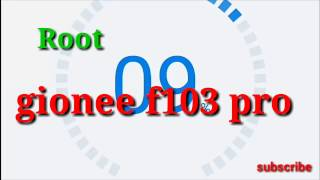 Root gionee f103 pro