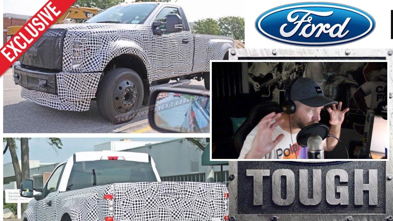 New 2020 Ford Super Duty Trucks Reaction To Spy Shots Youtube