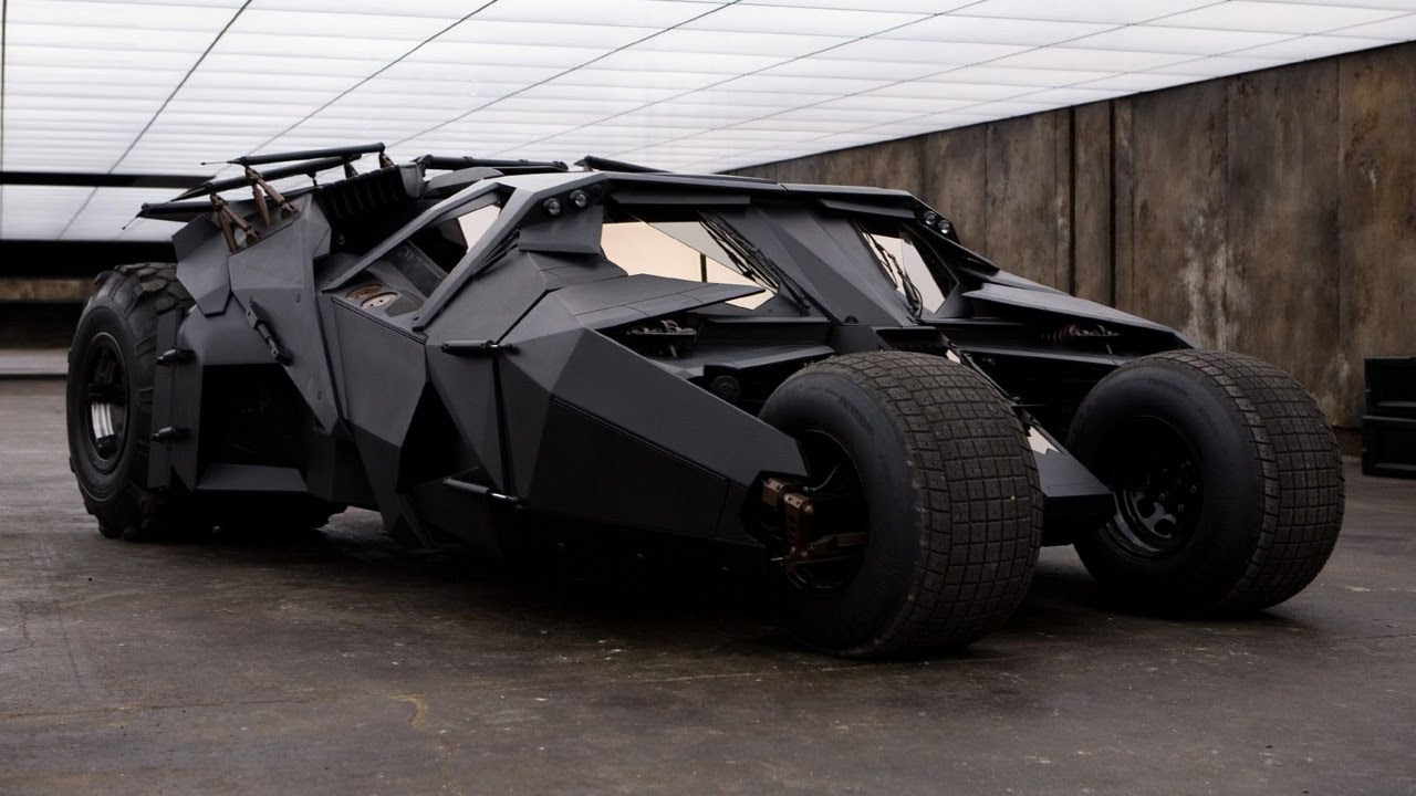 Image result for The Tumbler — 'The Dark Knight Rises'