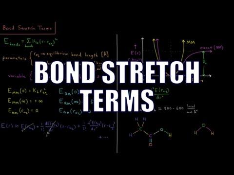 Computational Chemistry 2.5 - MM Bond Stretch Terms