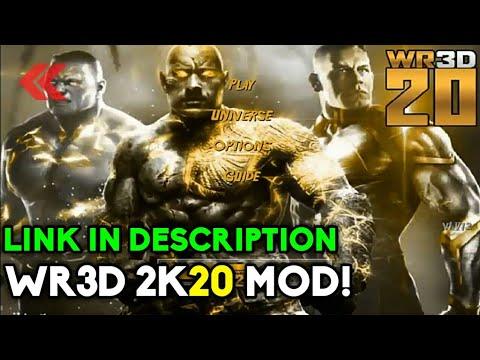 WR3D MOD   WR3D 2K20 MOD   WR3D NEW MOVES MOD   LINK IN DESCRIPTION   BEST  WR3D MOD   MIKE BAIL