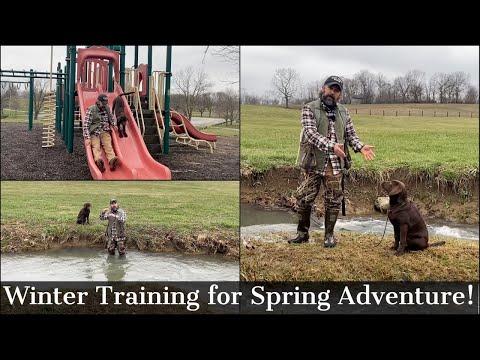 Puppy Training - Winter Preparation for Spring Adventure!