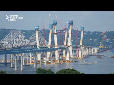 A time-lapse look at the five-year new bridge project.