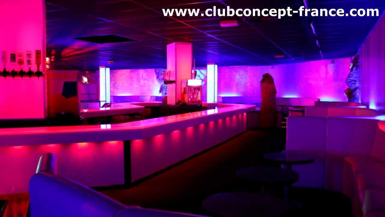 Amnagement CLUB CONCEPT Dcoration Discothque relookage bote de nuit France  YouTube