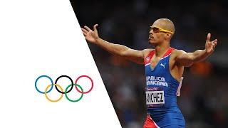 Felix Sanchez Wins 400m Hurdles Gold | London 2012 Olympics