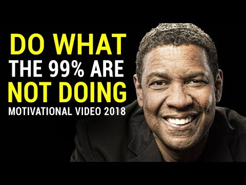 Denzel Washington's Life Advice Will Change Your Future (MUS