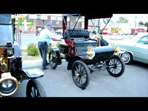 1904 OLDSMOBILE & 1914 FORD MODEL T