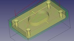 Ultimate Free CNC CAM tutorial with FreeCAD