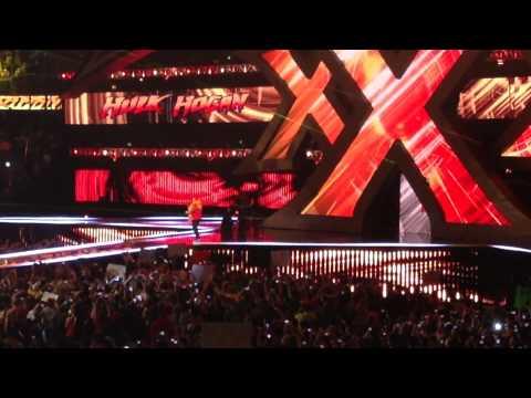 Hulk Hogan WrestleMania 30 Entrance (LIVE)