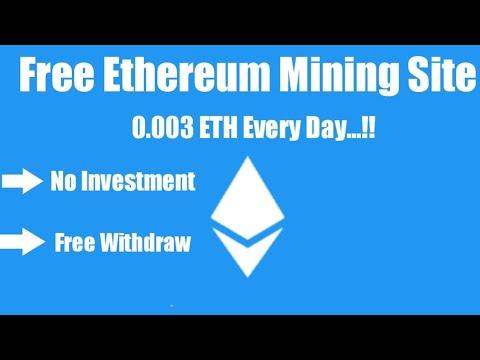 Free Ethereum Mining Site 2020 🔥