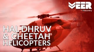 Power of Indian Army   HAL Cheetah & Dhruv Helicopters - India