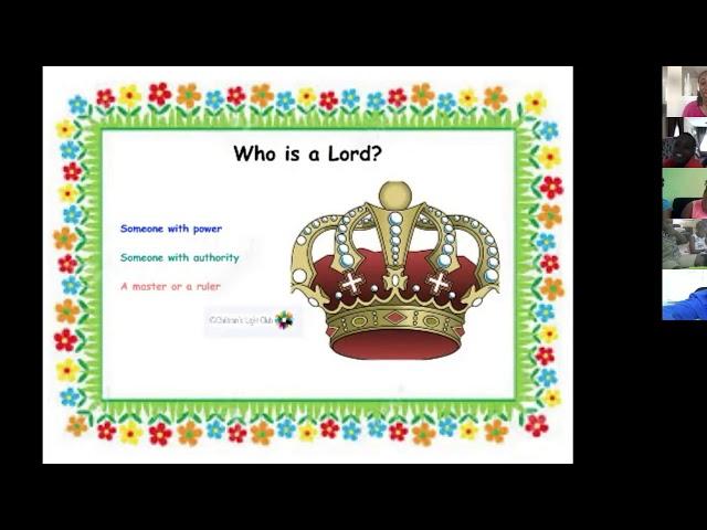 CLC - April 2020 My Saviour, My Lord and Me