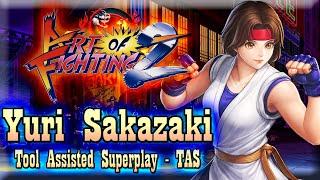 【TAS】ART OF FIGHTING 2 (RYUUKO NO KEN 2) - YURI SAKAZAKI