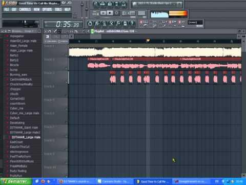 Good Time Vs Call Me Maybe(Mashup By DJ TAHAR) Fl Studio10