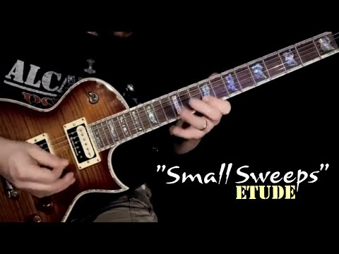 "Shredding the ""Small Sweeps"" Etude in Cm | Jason Aaron Wood"