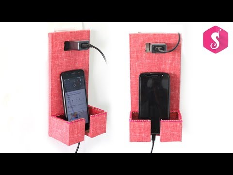 DIY MOBILE CHARGING HOLDER for WALL SWITCHBOARD
