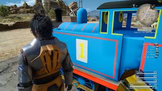 Final Fantasy XV - Thomas the Tank Engine Mod