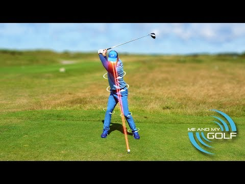 """HOW TO GET """"BEHIND"""" THE BALL WITH YOUR DRIVER"""