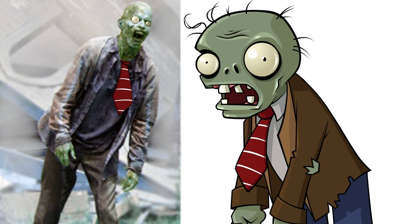 Plants Vs Zombies Zombies In Real Life Youtube