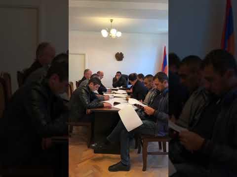 Ավագանու նիստ՝ 18.10.2018