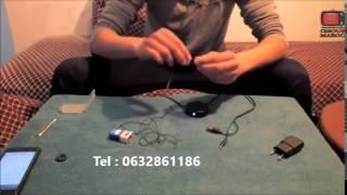 Kit invisible professionnel 2-core maroc ( 3adasa )