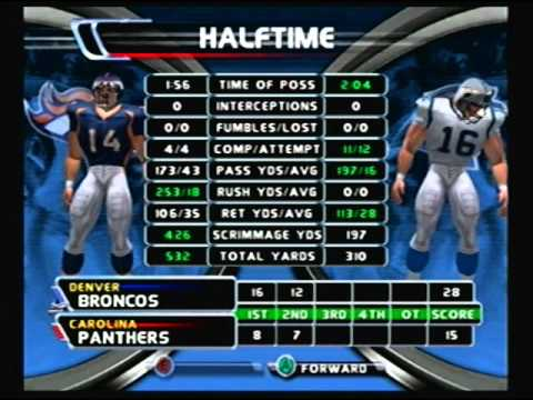 NFL Blitz 2003 - Carolina Panthers @ Denver Broncos