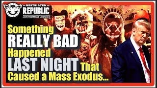 Something Really Bad Happened Last Night That Caused A Mass Exodus! Here's What's Going On...