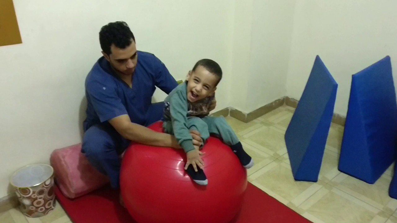 Cerebral palsy physical therapy - Ball Exercises With Cerebral Palsy Case
