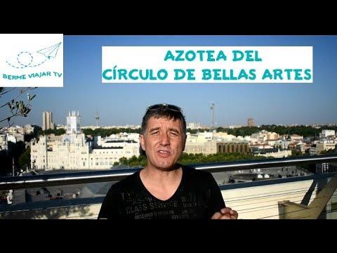 Las Mejores Vistas De Madrid Azotea Círculo De Bellas Artes