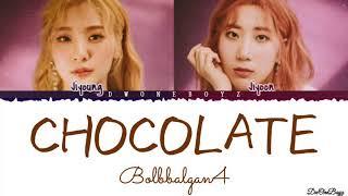 Bolbbalgan4 (볼빨간사춘기) - 초콜릿 (Chocolate) Lyrics/Lirik Terjemahan Indonesia [Rom_Eng_Indo]
