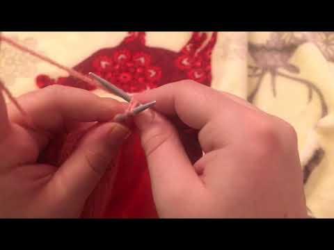 Örgü nasil bitirilir / how to end knitting