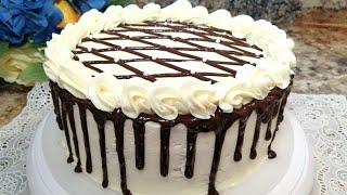 BAYRAMONA TORT Juda Ham Mayin Va Yumshoq Tort Tayyorlash Праздничный Торт SPOONGE CAKE